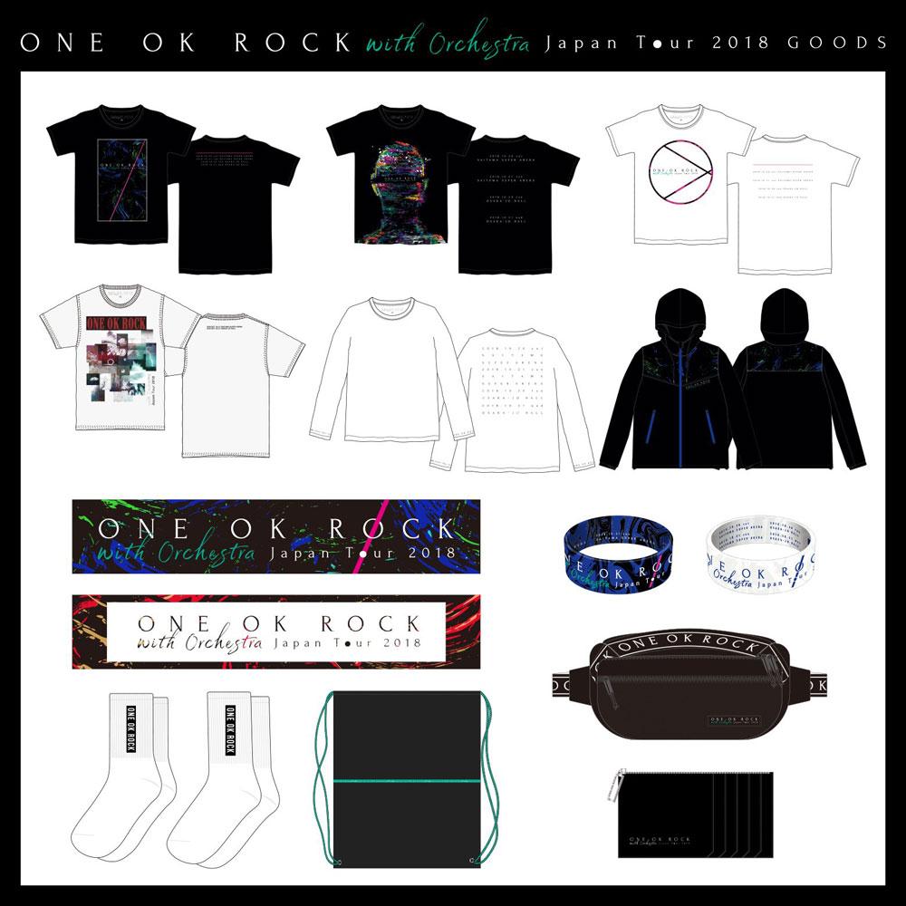 ONE OK ROCK ライブグッズ 2018【ONE OK ROCK】FAN BLOG