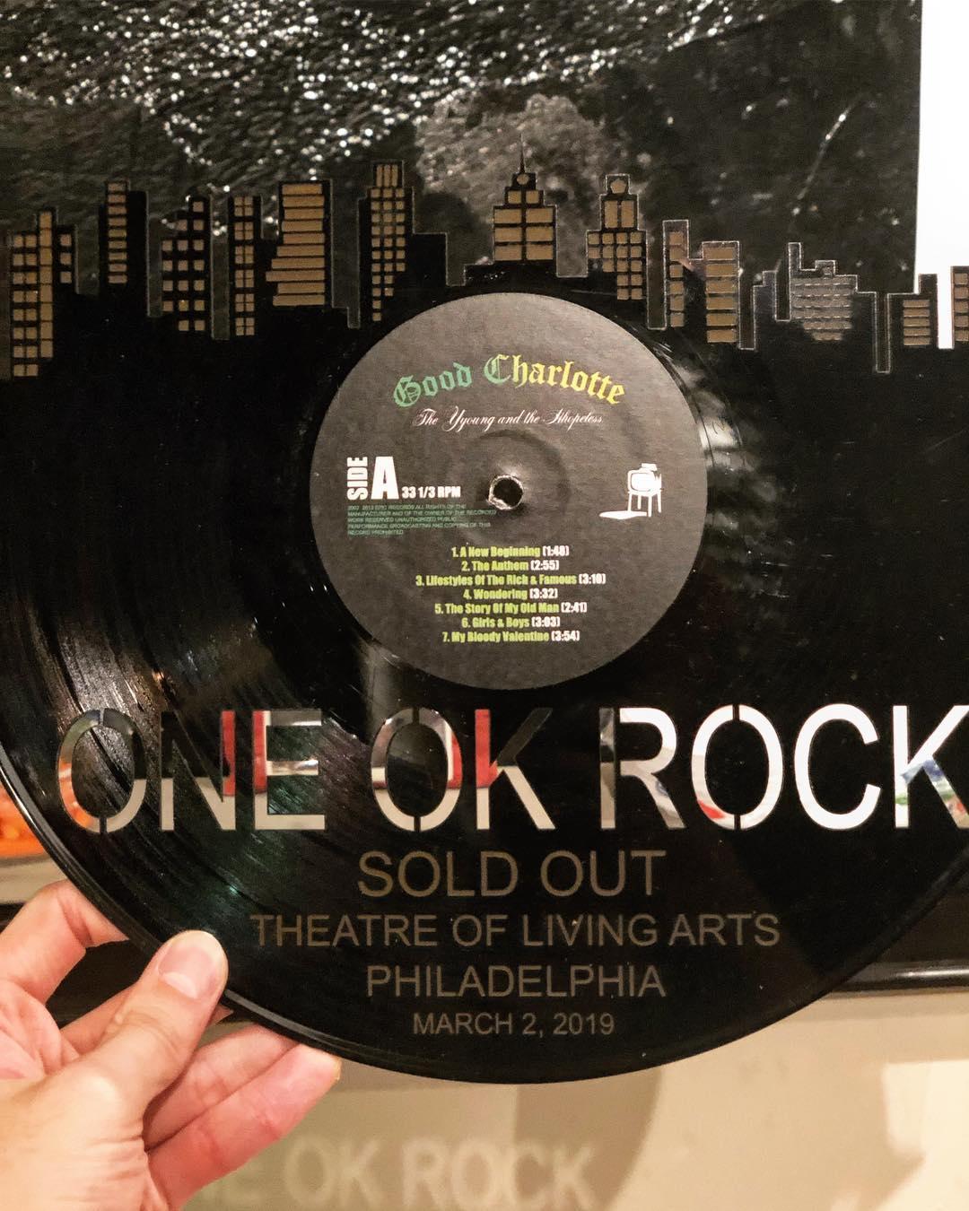 ワンオク セトリ アメリカ フィラデルフィア公演「EYE OF THE STORM NORTH AMERICAN TOUR 2019」【ONE OK ROCK】ファンブログ