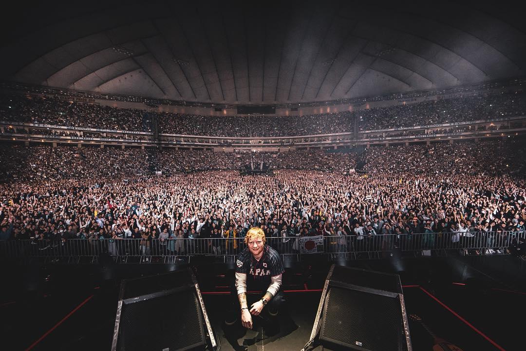 ワンオク セトリ エド・シーラン(Ed Sheeran)WORLD TOUR 2019 東京公演【ONE OK ROCK】ファンブログ