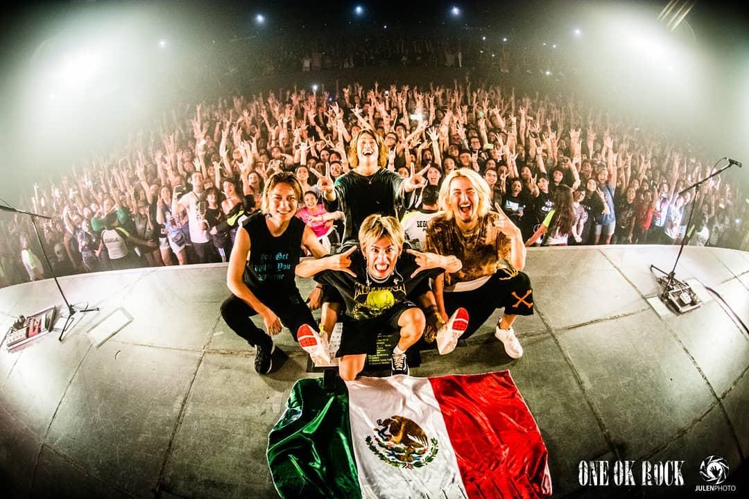 ワンオク セトリ メキシコ モンテレイ公演「EYE OF THE STORM WORLD TOUR 2019 -US & Mexico-」【ONE OK ROCK】ファンブログ