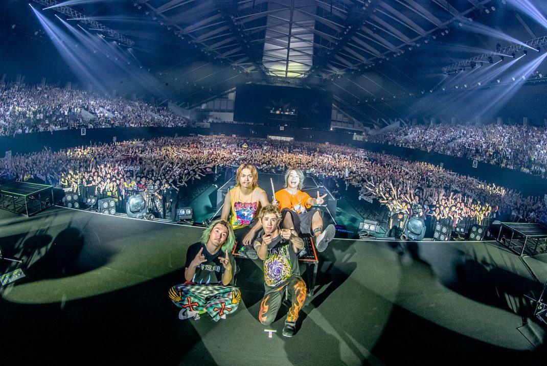 """ワンオク セトリ 宮城セキスイハイムスーパーアリーナ 1日目「ONE OK ROCK 2019-2020""""Eye of the Storm""""JAPAN TOUR」"""