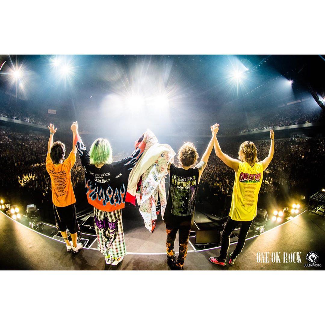 """ワンオク セトリ 埼玉 さいたまスーパーアリーナ 2日目「ONE OK ROCK 2019-2020""""Eye of the Storm""""JAPAN TOUR」"""