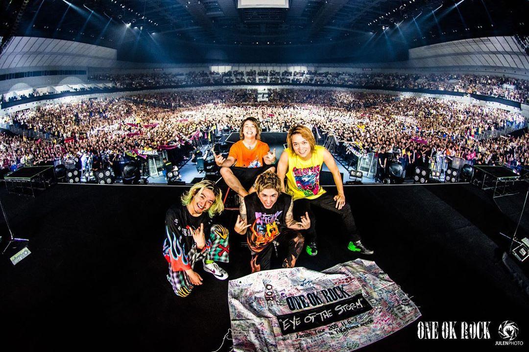 """ワンオク セトリ 横浜アリーナ 2日目「ONE OK ROCK 2019-2020""""Eye of the Storm""""JAPAN TOUR」"""