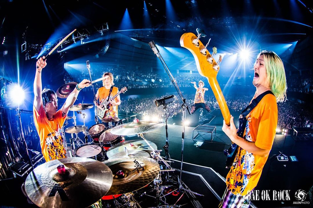 """ワンオク セトリ 広島グリーンアリーナ 2日目「ONE OK ROCK 2019-2020""""Eye of the Storm""""JAPAN TOUR」"""