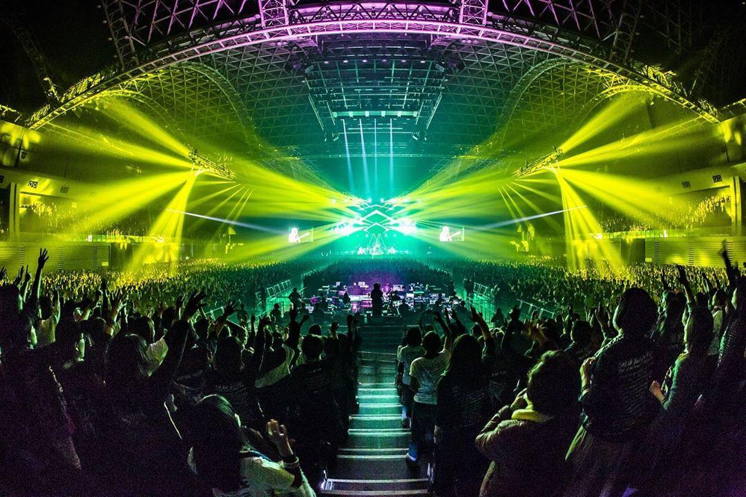 """ワンオク セトリ 1月 マリンメッセ福岡 1日目「ONE OK ROCK 2019-2020""""Eye of the Storm""""JAPAN TOUR」"""